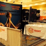 Anytime Fitness Conference - GAINT Marketing Booths
