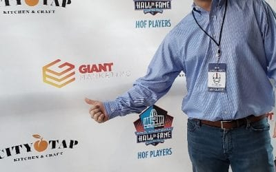 GIANT Marketing is proud to support the HOF Players at the Superbowl 53  Atlanta GA.